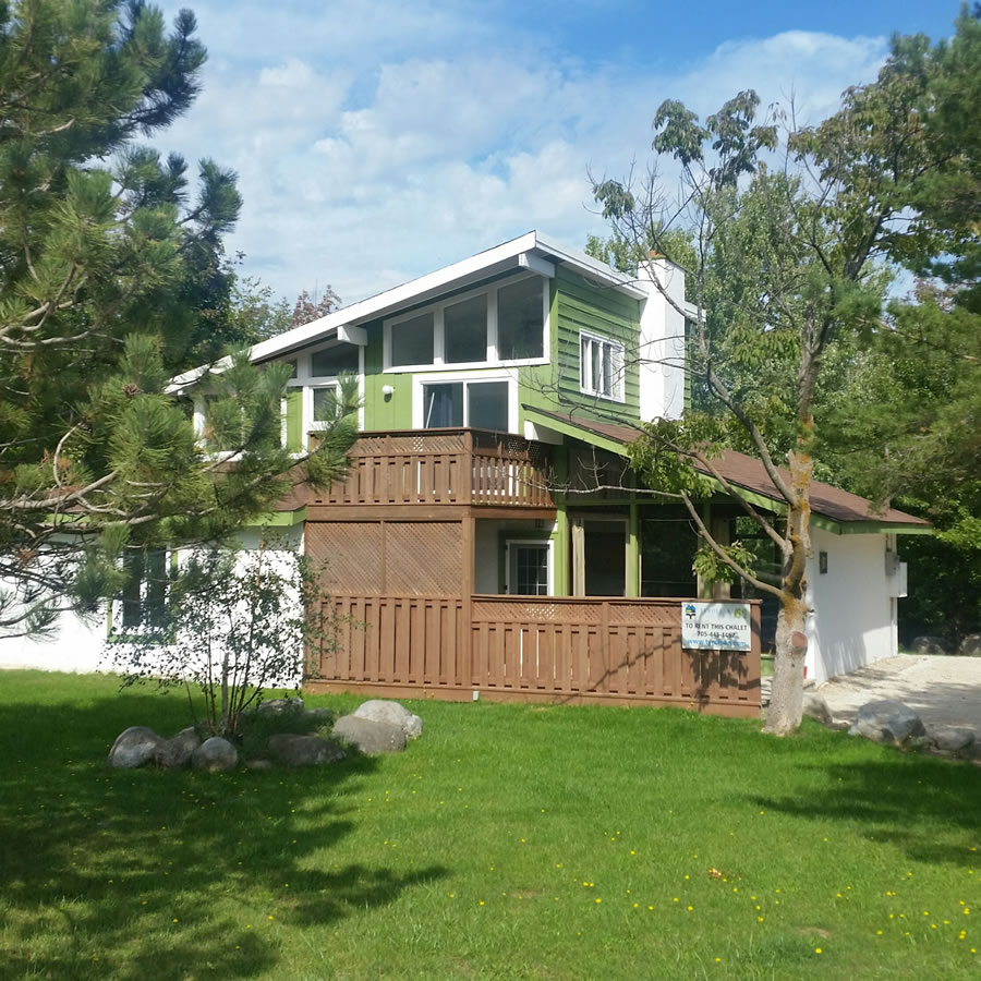 butternut cottage ontario rental waterfront kawartha rentals the